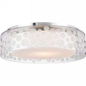 Hudson Valley HV 7815 SA Carter Satin Aluminum  Semi Flush Mount Lighting