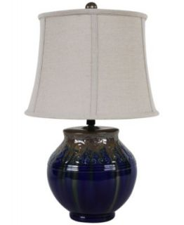 Dale Tiffany Table Lamp, Art Glass Modern