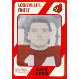 Autograph Warehouse 101809 Dale Orem Football Card Louisville 1989 Collegiate Collection No. 170