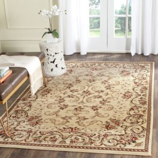 Safavieh Lyndhurst Collection Floral Ivory Rug (53 x 83)   10519842