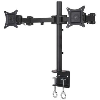 Mount it Dual Arm Articulating Computer Monitor Desk Mount for