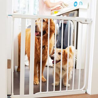 Munchkin It Fits™ Baby Safety Gate with Extension   White    Munchkin