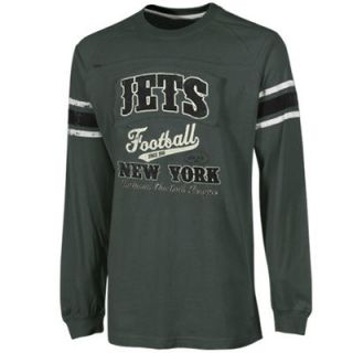 New York Jets Youth Jersey Style Long Sleeve T Shirt   Green