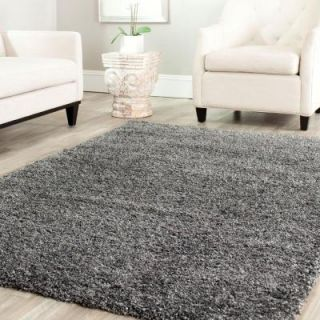 Safavieh California Shag Dark Gray 3 ft. x 5 ft. Area Rug SG151 8484 3