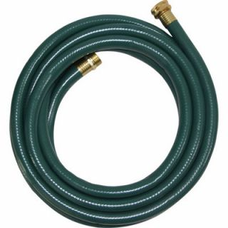 GroundWork Light Duty Hose, Gray, 15 ft. L