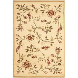 Safavieh Lyndhurst Red and Black Rectangular Indoor Machine Made Area Rug (Common 5 x 8; Actual 63 in W x 90 in L x 0.33 ft Dia)