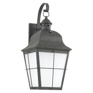 Sea Gull 1 Light Outdoor Wall Lantern   Oxidized Bronze