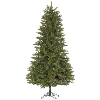 Vickerman 9 Slim Balsam Fir Artificial Christmas Tree with 950 LED
