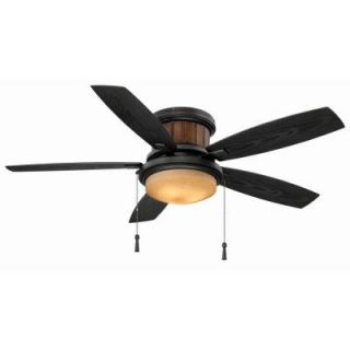 Hampton Bay Roanoke 48 in. Indoor/Outdoor Iron Ceiling Fan YG216 NI