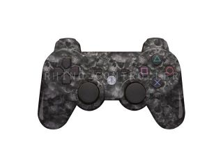 Custom PS3 controller Wireless Glossy  WTP 486 Proveil Reaper Black Custom Painted