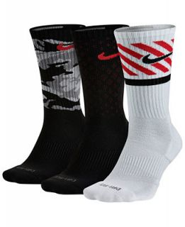 Nike Dri FIT Triple Fly Crew Socks 3 Pack   Socks   Men