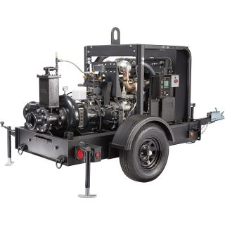 Generac Diesel Dry Prime Mobile Full Trash Pump — 2750 GPM, 6in. Ports, Tier 4 Final Approved, Model# 6963  Engine Driven Full Trash Pumps