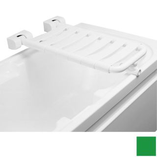 Ponte Giulio USA Glossy Green Plastic Wall Mount Shower Seat