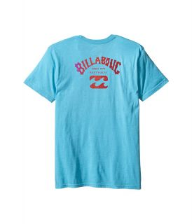 Billabong Kids Arch T Shirt (Big Kids) Aqua Heather