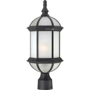 Nuvo Lighting NUV 60 4996 Boxwood Textured Black  Outdoor Post Lights Lighting