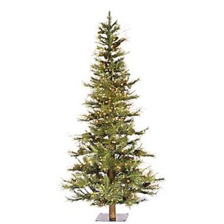 Vickerman 5 x 35 Prelit Ashland Fir Tree With 516 Tips & 300 Dura Lit Clear Light, Green