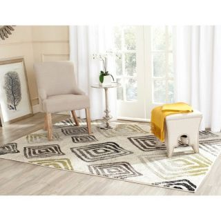 Safavieh Porcello Ivory/ Brown Rug (8 x 112)   Shopping