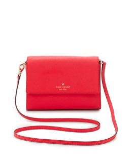 kate spade new york cedar street magnolia crossbody bag, dark geranium