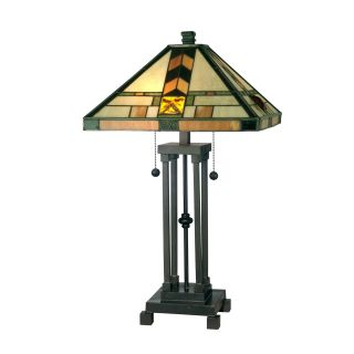 Dale Tiffany Martin Mission Style Table Lamp   Table Lamps