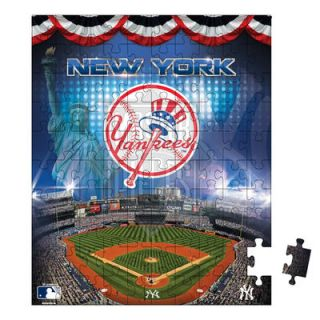 New York Yankees Pouch 100 Piece Puzzle
