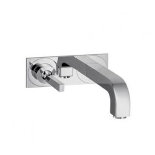 Hansgrohe 39115 Axor Citterio Wall Mounted Single Handle Lav Set with Base Plate