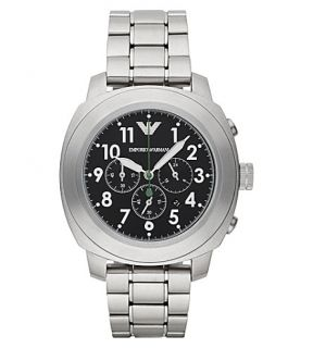 EMPORIO ARMANI   ar6056 stainless steel chronograph watch