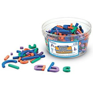 Learning Resources Magnetic Letter Construction Set, 262/Set