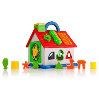 Dimple DC11608 Baby Toy House Shape Sorter, Telephone and More