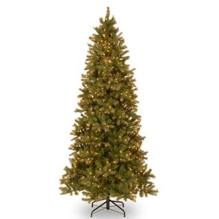 Feel Real Down Swept Douglas Slim Fir Hinged 9 foot Tree with 800