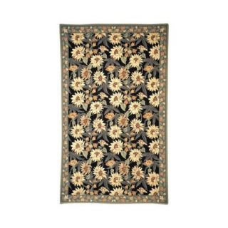 Safavieh Chelsea Black/Sage Novelty Rug