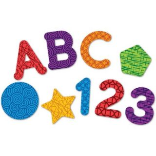 Learning Resources Magnetic Letters, Numbers, and Shapes