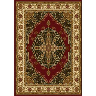 Home Dynamix Royalty Red Area Rug