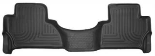 Husky Liners   Husky Liners WeatherBeater Floor Liners, Rear (Black) 14111   Fits 2015 Cadillac Escalade
