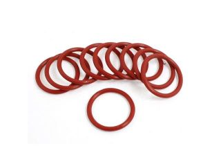 27mm x 2.5mm Metric Rubber Sealing Oil Filter O Rings Gaskets 10 Pcs
