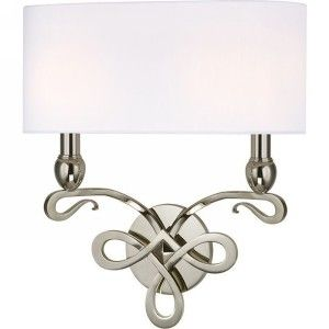 Hudson Valley HV 7212 PN Pawling Polished Nickel  Wall Sconces Lighting