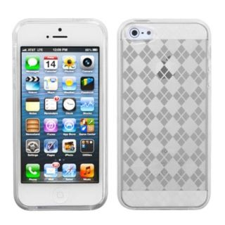 INSTEN Clear Argyle Candy Skin Phone Case Protector Phone Case for