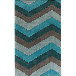 Surya Cosmopolitan COS9218 58 Hand Tufted Rug, 5 x 8 Rectangle
