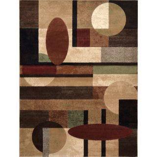 Downtown Multicolored Geometric Area Rug ( 710 x 106)